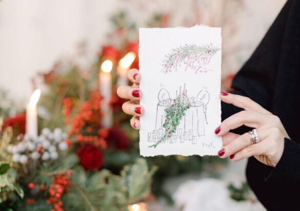 Christmas Dinner Table Decoration Ideas | Mazi Event