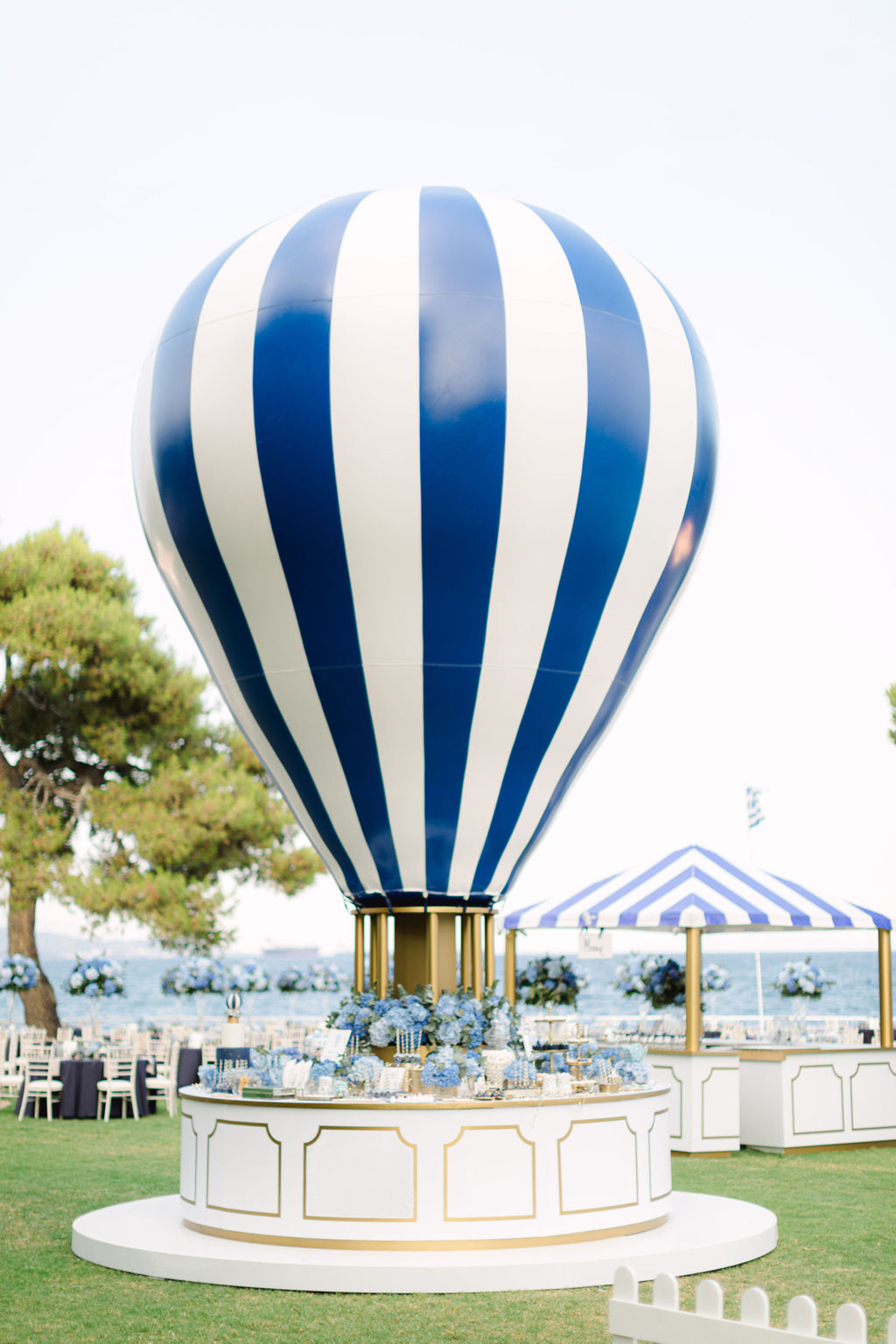 Summer Luxury Baptism in Peloponnese by Mazi Event