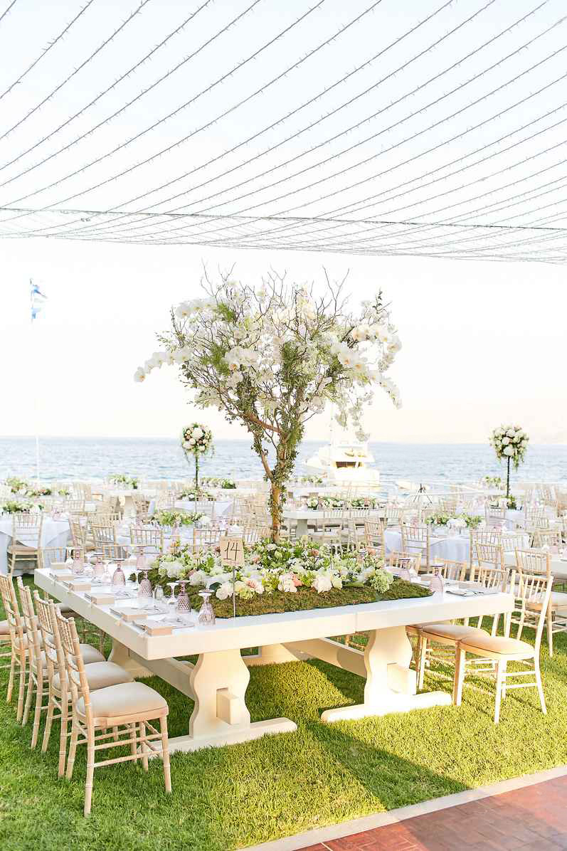 Summer Luxury Wedding in Peloponnese by Mazi Event