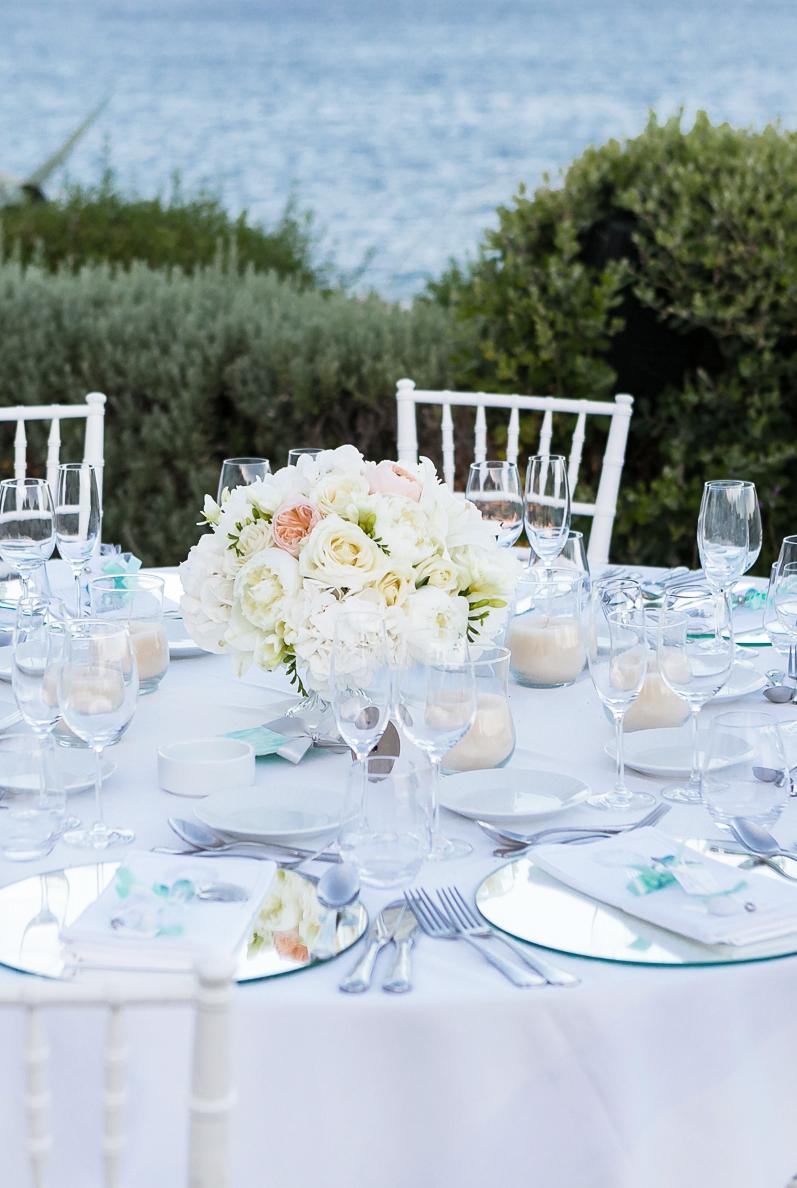 Summer Chic Destination Wedding in Athenian Riviera by Mazi Event