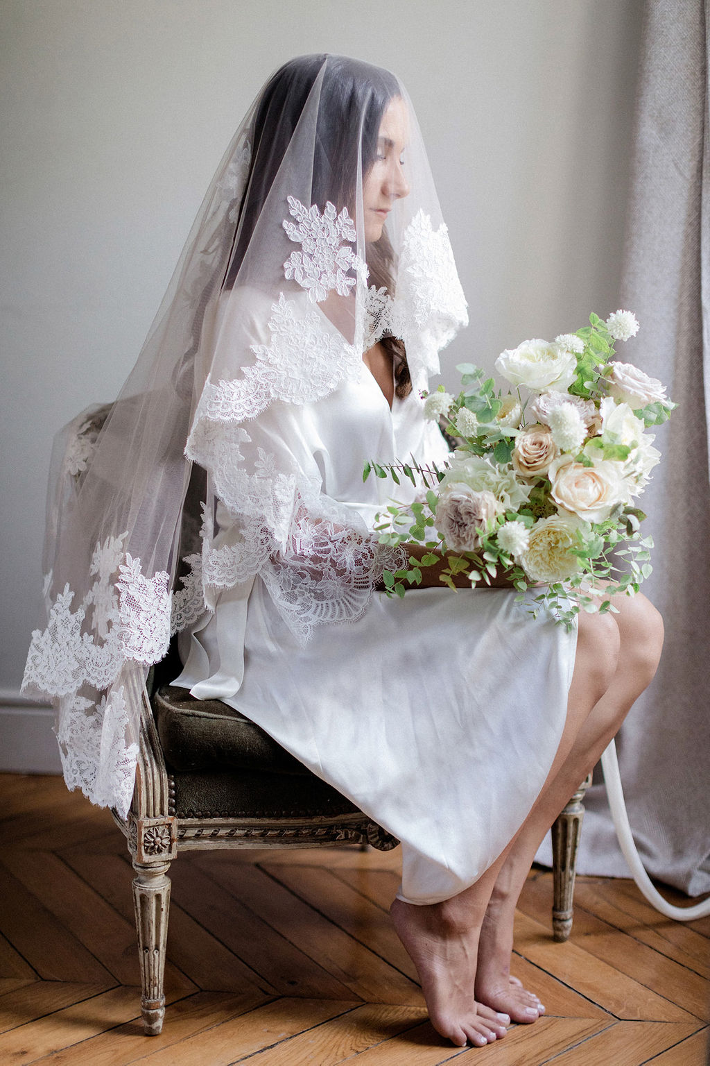 Bridal preparation, Paris 2019